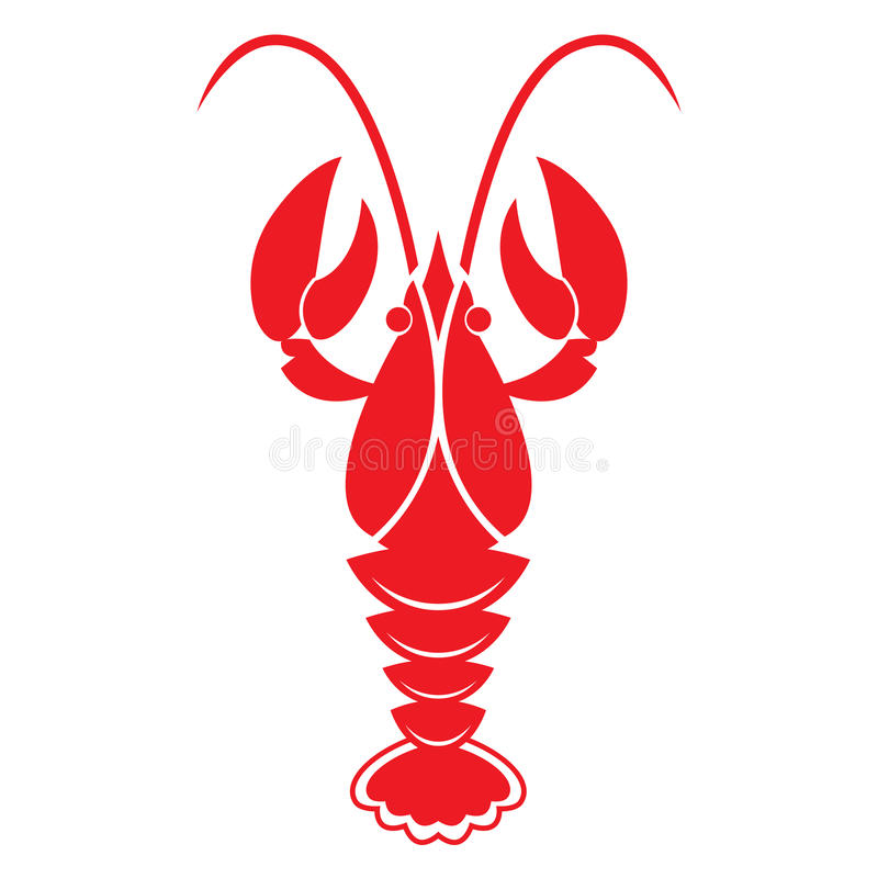 red crawfish on white background vector icon or sign crawfish clip art images crawfish clipart png