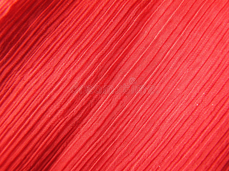 Red Crepe Fabric royalty free stock photos