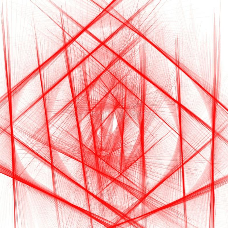 Red criss Cross beautiful net pattern line on white background . Vector illustration for wallpaper prints and printable materials vector illustration
