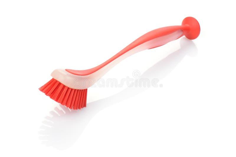 Download Red crockery brush stock photo. Image of brush, dishware - 26075868