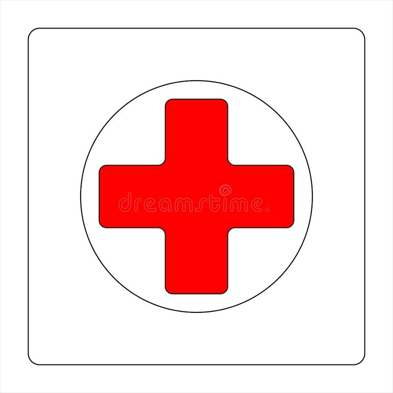 Free Red Cross Logo Royalty Free Stock Photography - 129664717