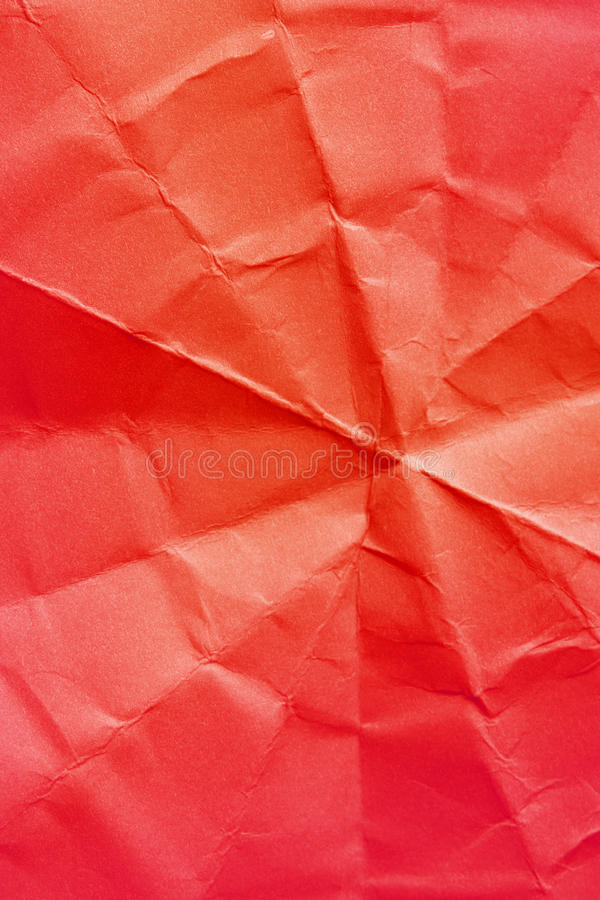Red crushed paper stock images