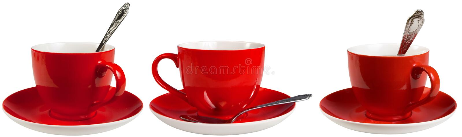 Download Red cups stock photo. Image of object, single, isolated - 16096576