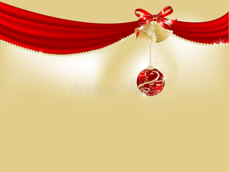 Download Red curtain stock vector. Image of background, christmas - 22204052