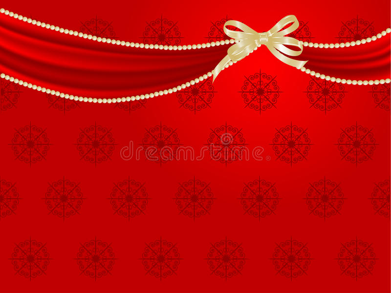 Download Red curtain stock vector. Illustration of illustration - 22204084