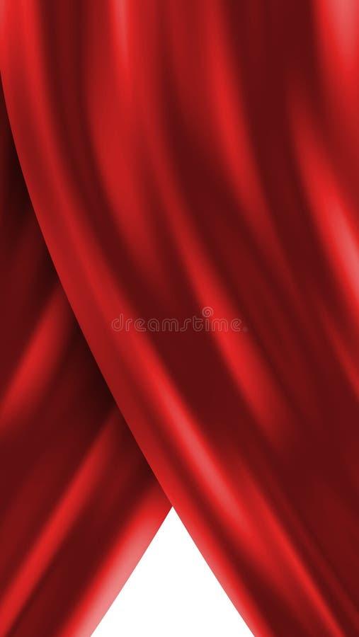 Download Red curtain stock illustration. Illustration of episode - 3028596