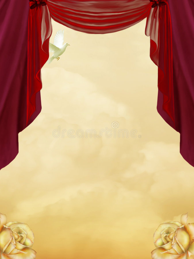 Download Red Curtain Stock Photography - Image: 4839902