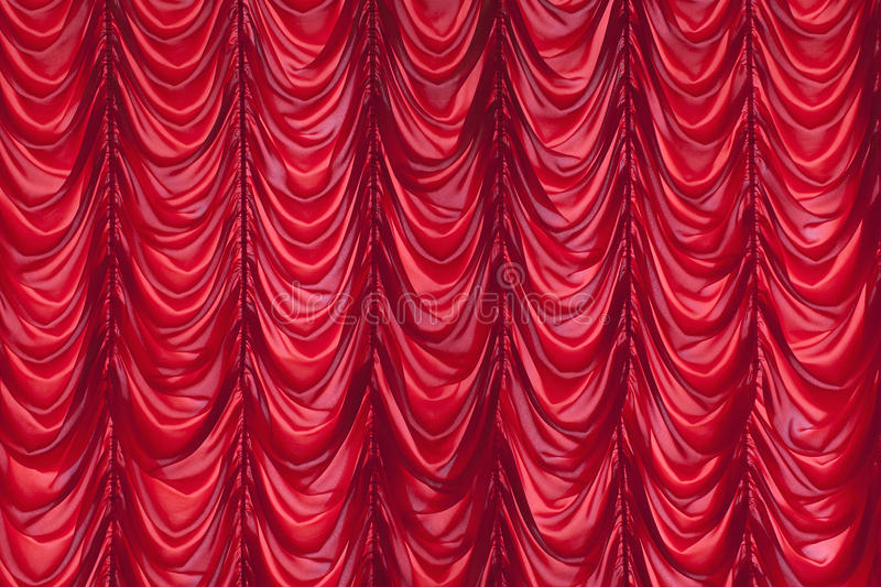 Download Red Curtain stock photo. Image of theater, cloth, velvet - 34190530