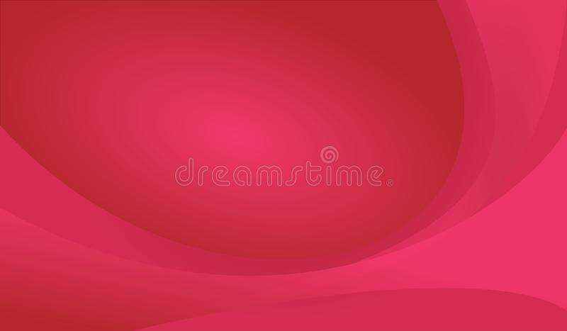 Red Curve Luxury Abstract Background Vector. Image of red curve abstract illustration vector for wallpapar, presentation, web design, modern poster business royalty free illustration