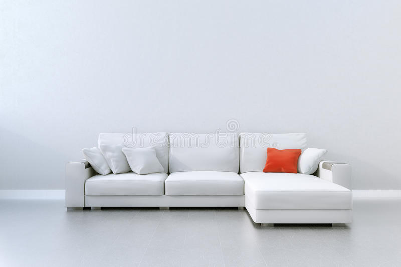 Download Red Cushion stock illustration. Image of rendering, calm - 33547985