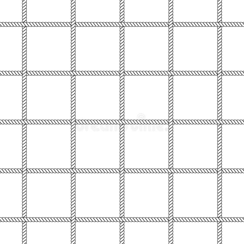 Red de la cuerda stock de ilustración