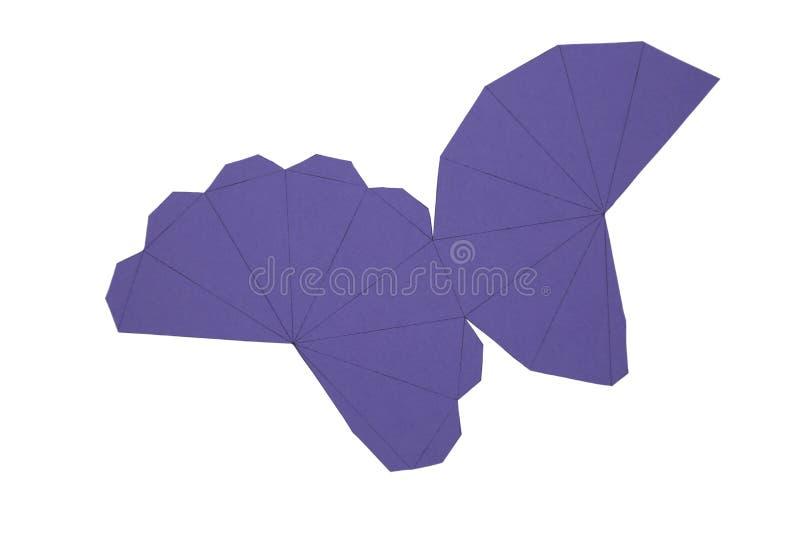 Red de la geometría de Dipyramid octagonal forma de 2 dimensiones que se puede doblar para formar una forma de 3 dimensiones libre illustration