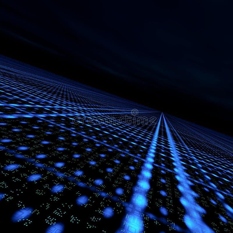 Red de la matriz de los datos libre illustration