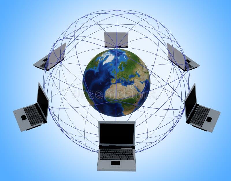 Red de ordenadores global
