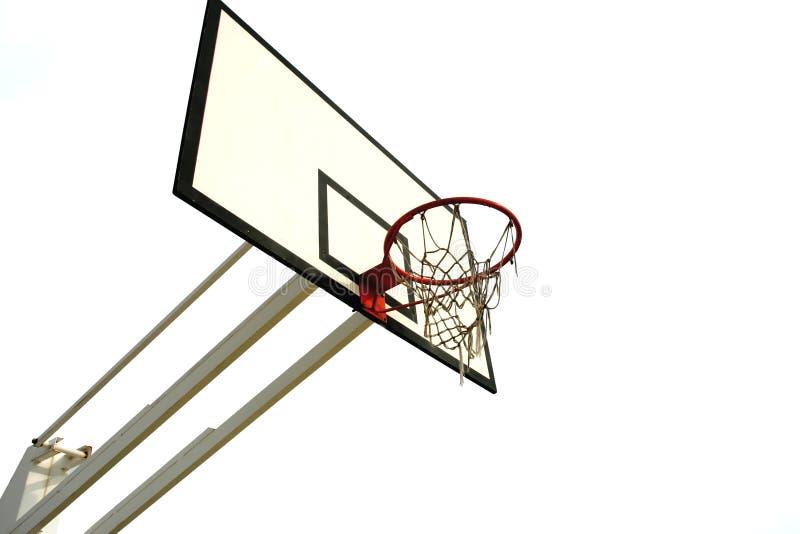 red del baloncesto fotografía de archivo