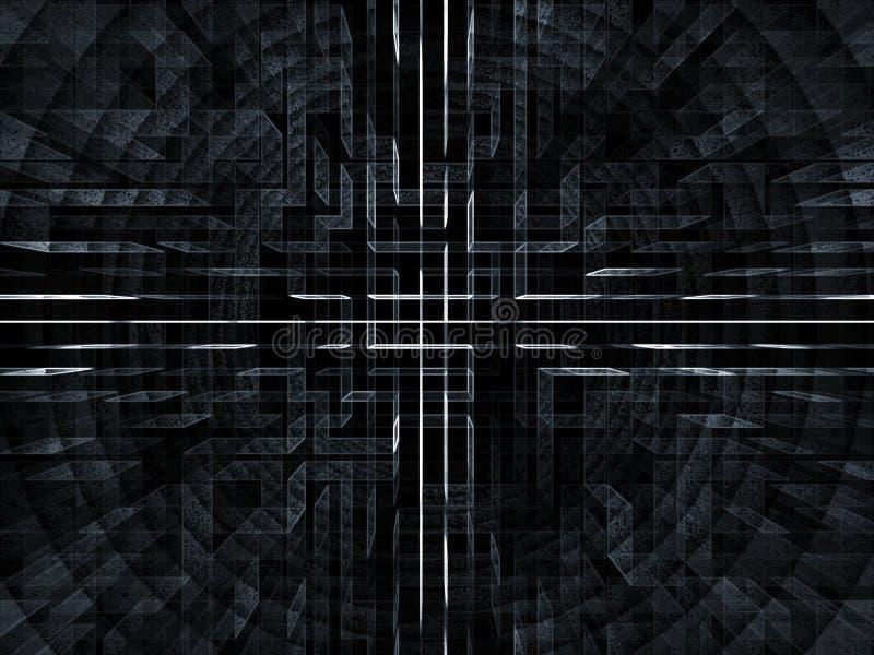 Red del Cyber ilustración del vector