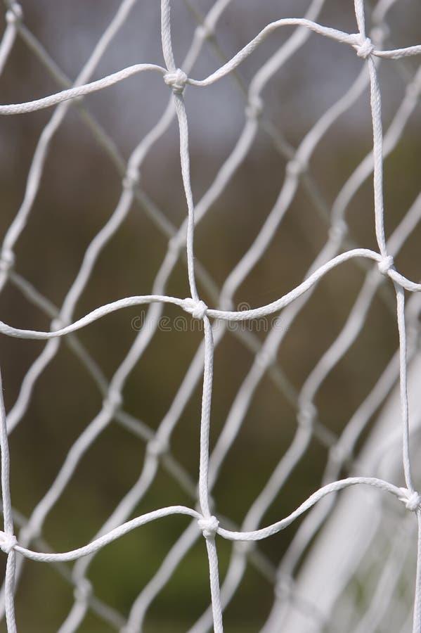 Red del fútbol foto de archivo