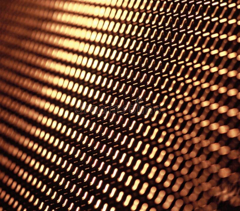 Red del metal fotos de archivo