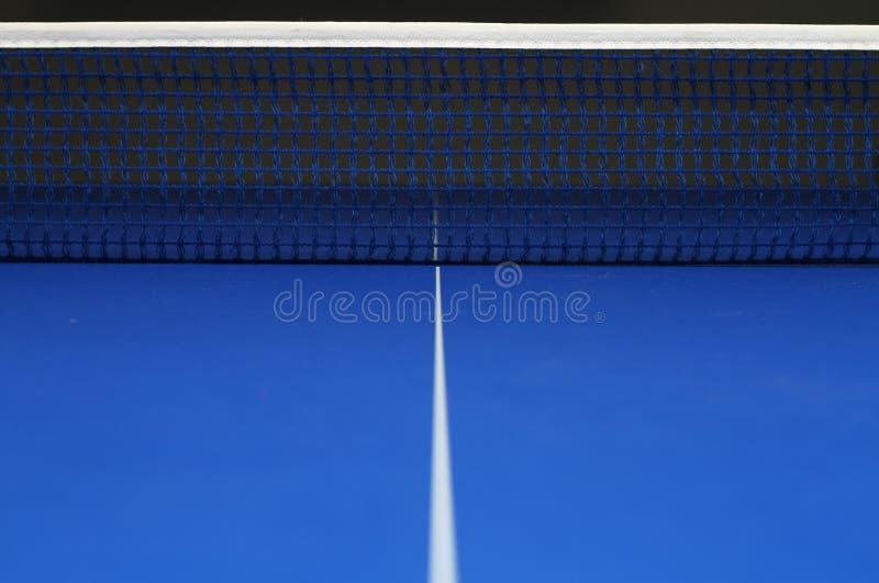 Red del ping-pong foto de archivo