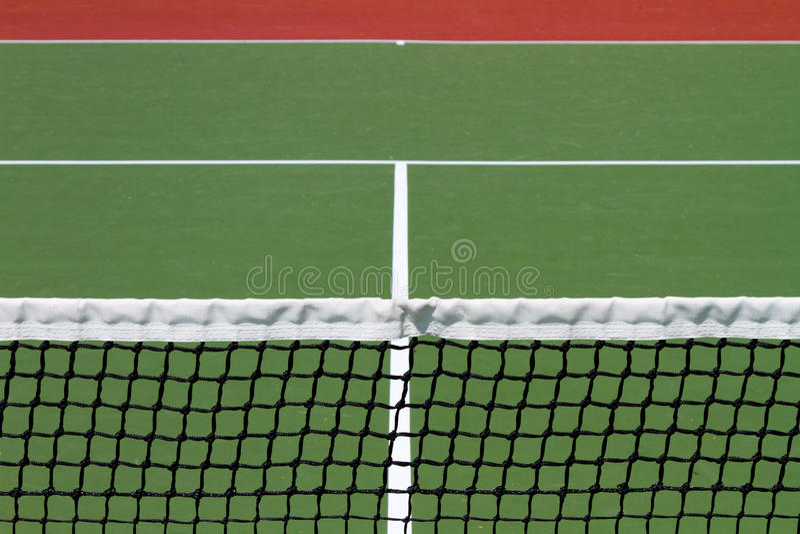 Red del tenis imagenes de archivo