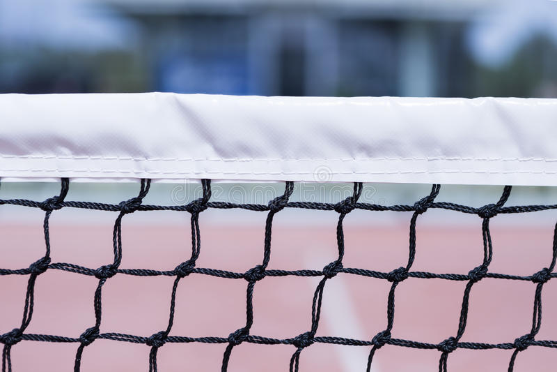 Red del tenis de la paleta foto de archivo libre de regalías