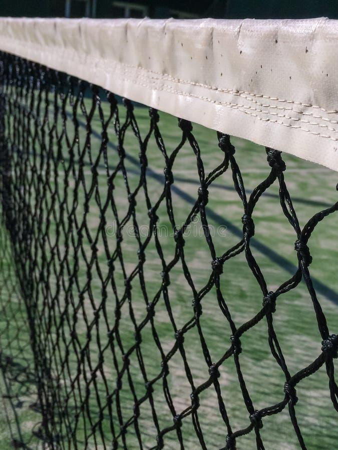 Red del tenis de la paleta imagen de archivo libre de regalías