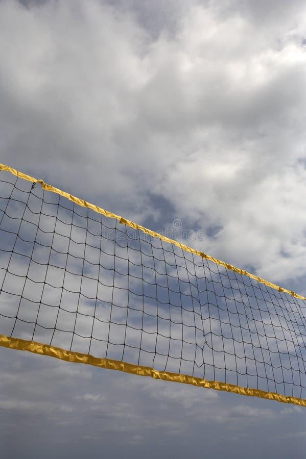 Red del voleibol fotografía de archivo