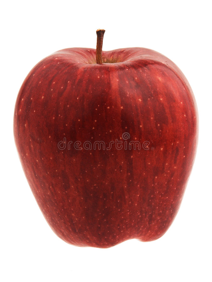 Red Delicious Apple royalty free stock images