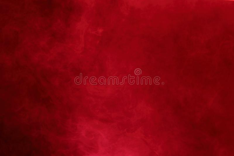 Red Abstract Smoke Clouds, All Movement Blurred, intention out o royalty free stock images