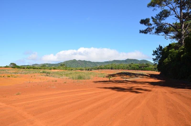Red Desert in Santa Maria stock image