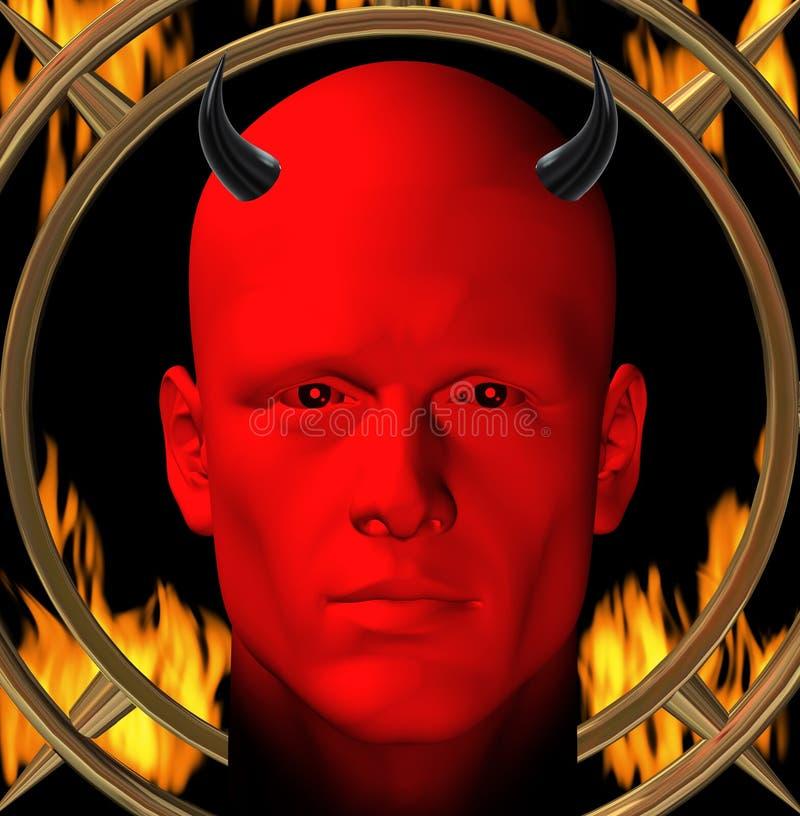 Red devil vector illustration