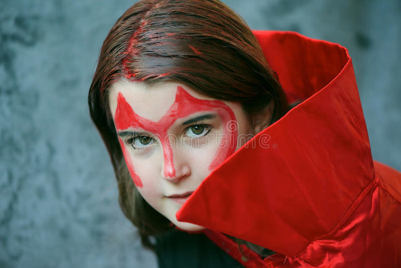 Red devil royalty free stock photography
