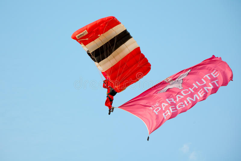 Download Red Devils Parachutist editorial photo. Image of union - 41360556