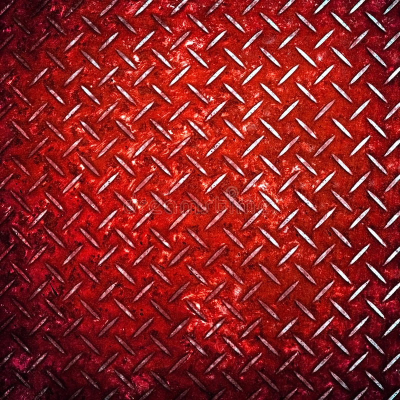 Free Red Diamond Metal Background Stock Photos - 12837253