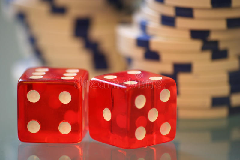 Download Red dice stock image. Image of risk, glass, danger, pair - 12824743