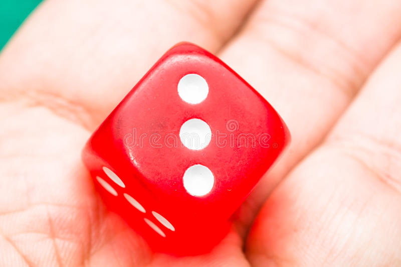 Download Red dice stock photo. Image of poker, leisure, loss, macro - 36344684