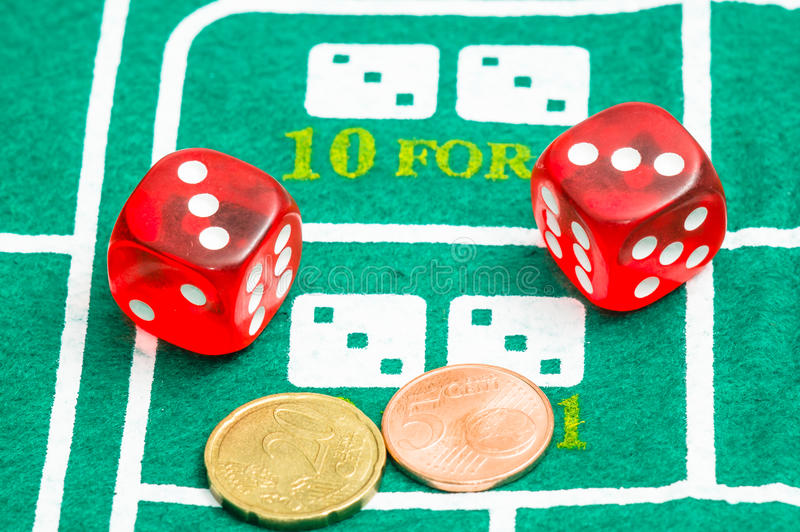 Download Red Dice Royalty Free Stock Photo - Image: 36345085