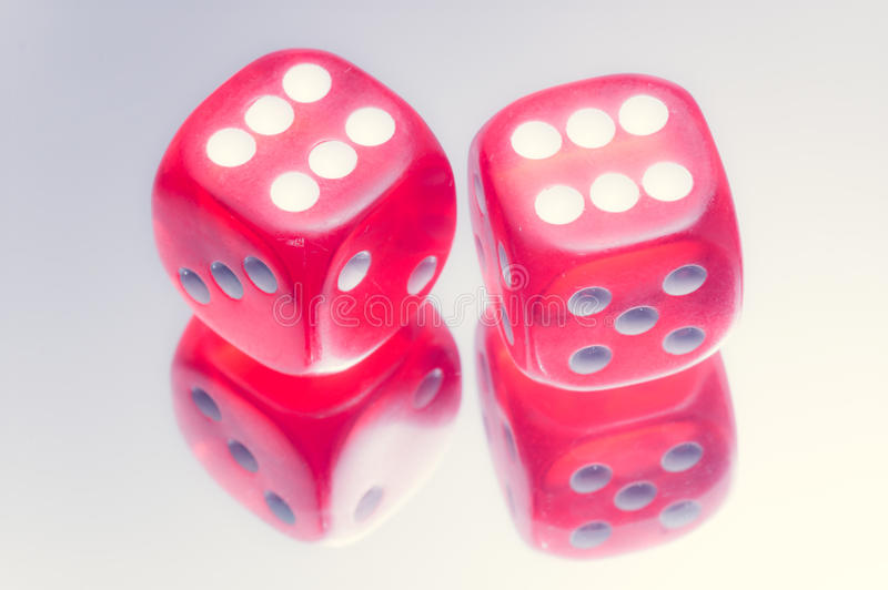 Download Red dice stock image. Image of macro, loss, chance, gaming - 36345119