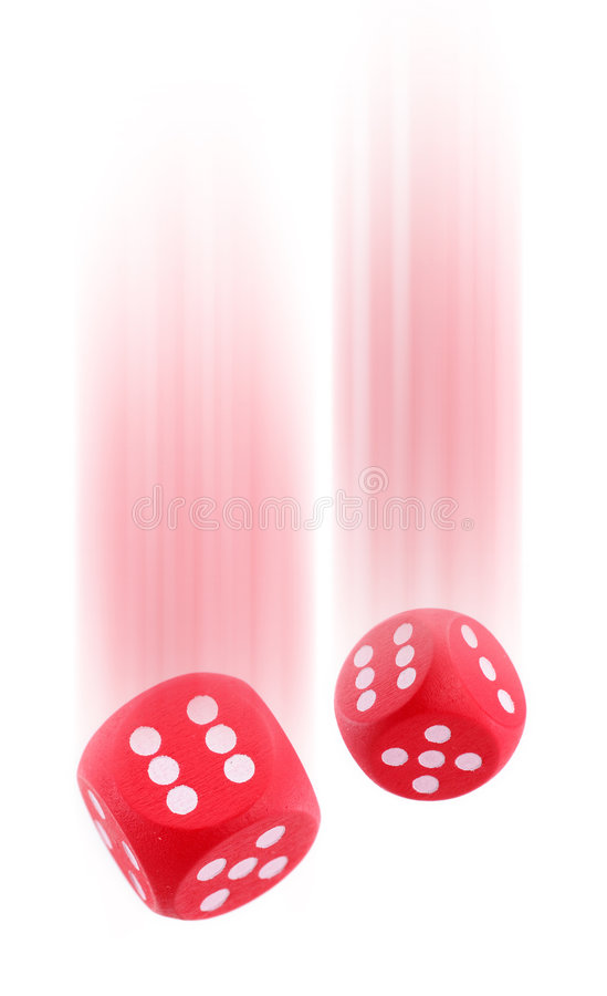 Free Red Dices Stock Image - 1749151