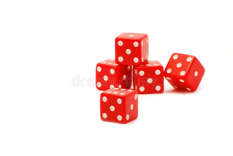 Download Red dices stock image. Image of luck, game, games, concept - 28991287