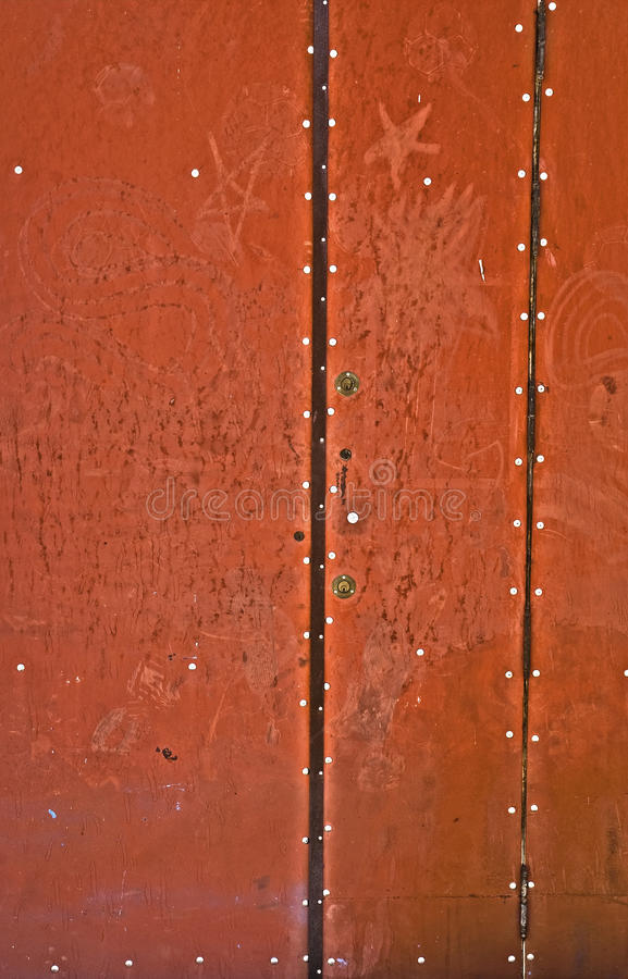 Download Red door stock photo. Image of board, parquet, renovation - 21695034