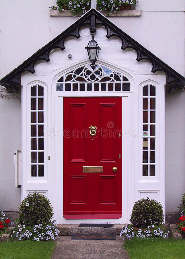 Free Red Door Royalty Free Stock Photos - 375458