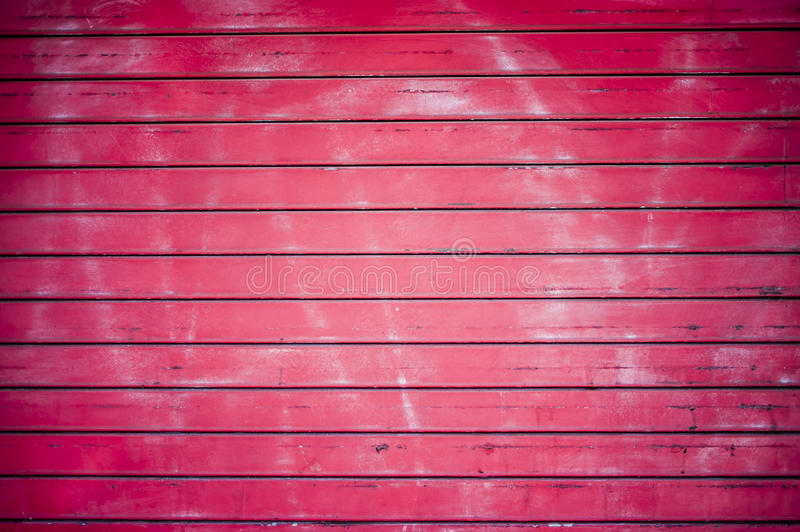 Red Door Background (1 of 2). Red wooden slats background/texture stock photography