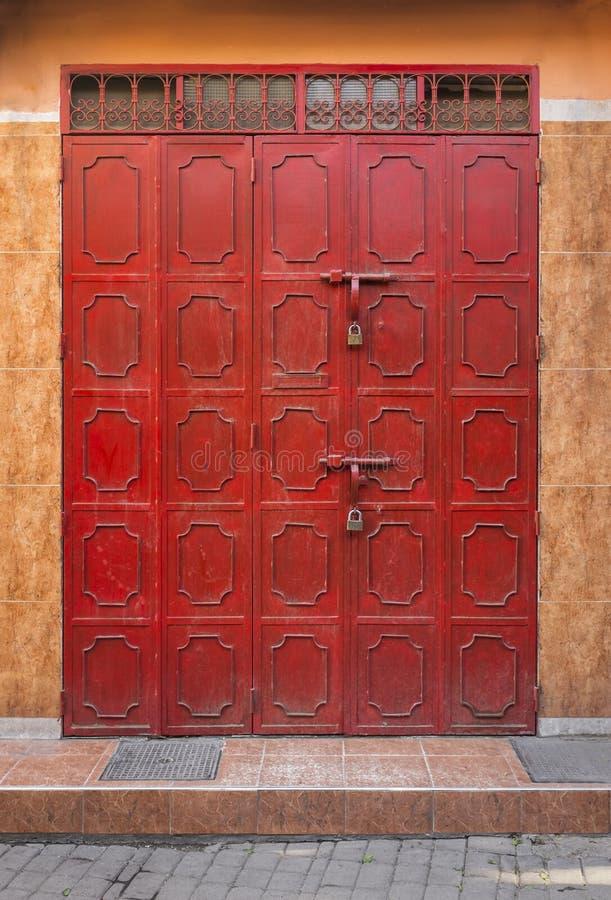 Download Red Door stock photo. Image of medina, door, africa, maghreb - 47629568