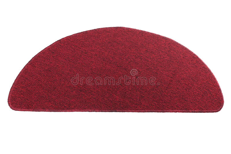 Red Doormat Royalty Free Stock Photography