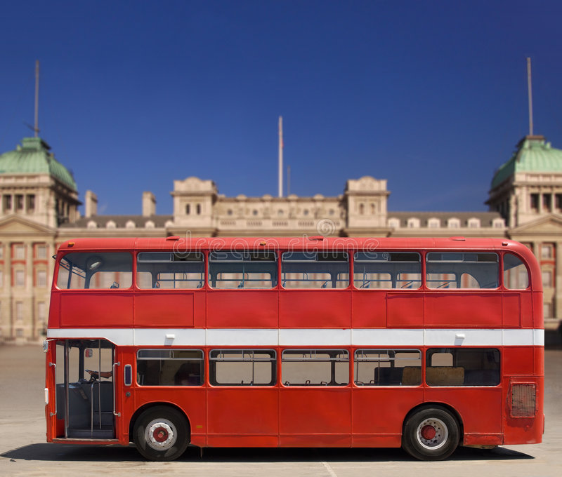 Download Red Double Decker Bus stock image. Image of sight, decker - 7590265