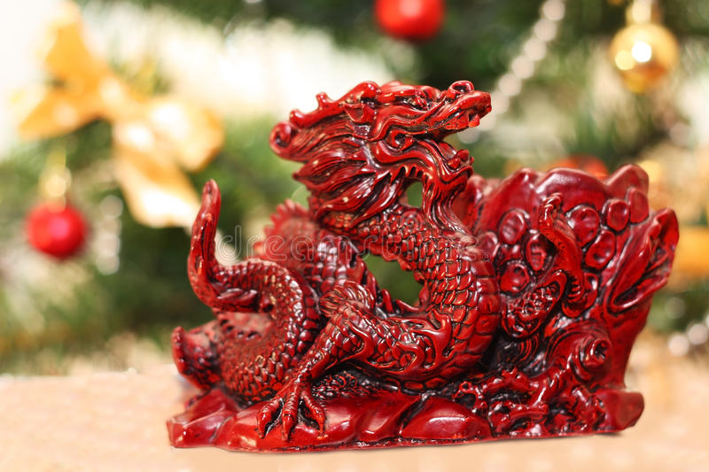 Download Red dragon stock image. Image of power, background, holidays - 22756739