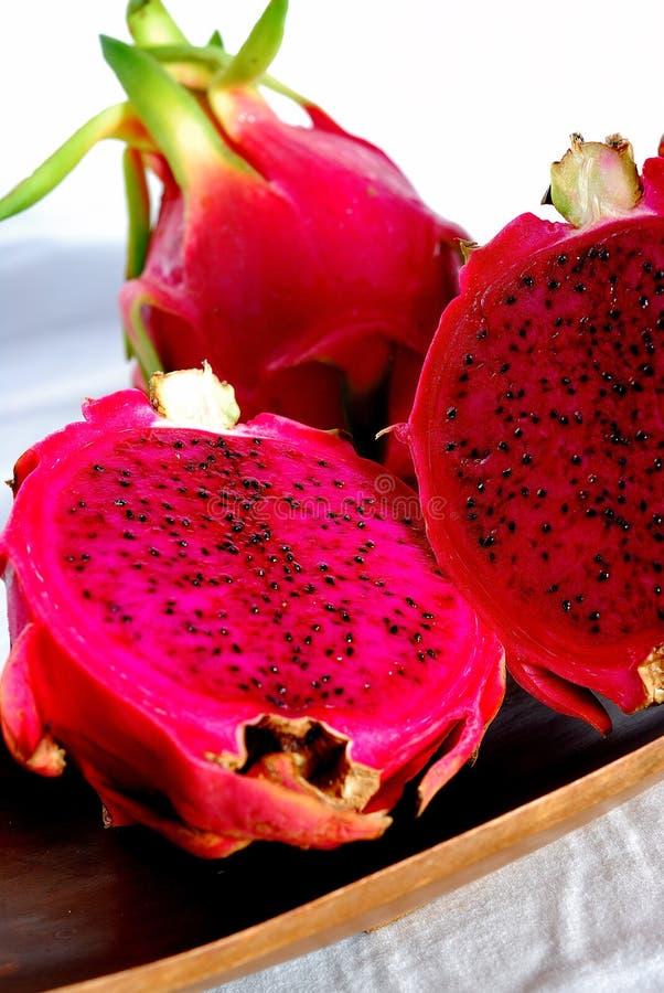 Red Dragon Fruit stock photos