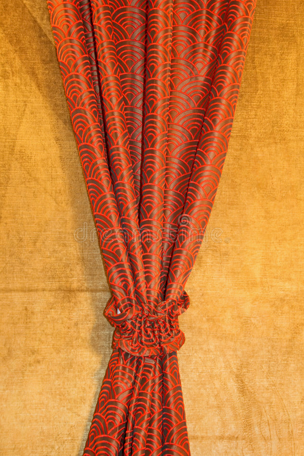 Download Red drapery stock image. Image of encore, cloth, curtains - 4008179