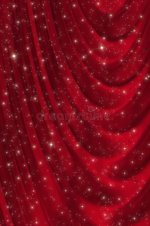 Download Red drapery background stock illustration. Illustration of illustration - 4163307
